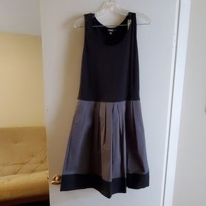 DKNY black and gray dress